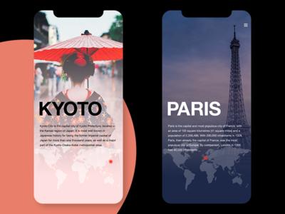 Infocard ui app branding ui  ux concept design conceptui