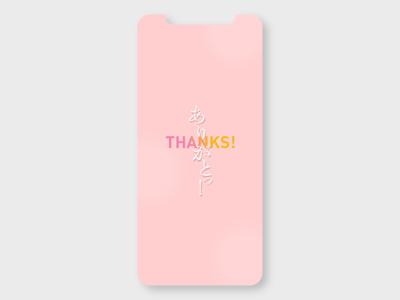Thanks ui  ux concept design ui app branding conceptui