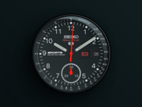 Seiko Speed Timer Watch