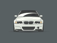 BMW M3 Illustration