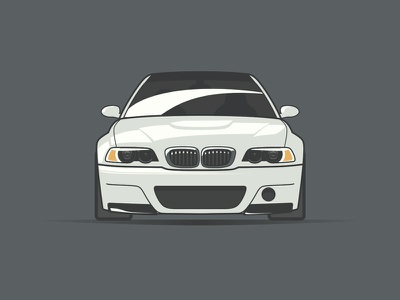 BMW M3 Illustration vector sketch csl m3 bmw auto illustration car