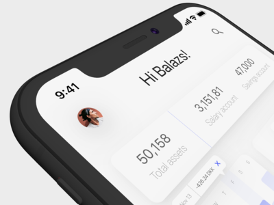 Banking app overview