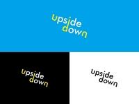 Upside Down Concept Logo