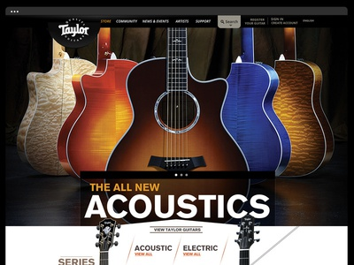 Taylor Guitars - Websi...