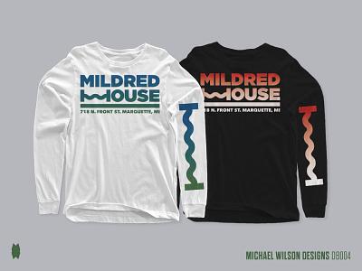 Mildred House Long Sleeves music venue music art music apparel graphics apparel mockup apparel design apparel icon vector typography logo branding design