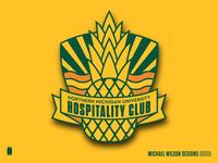 NMU Hospitality Club Patch