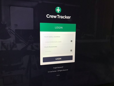 New CrewTracker app getting there... react