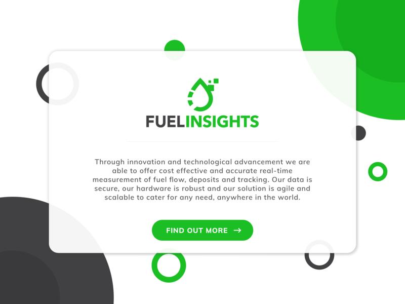 Fuel Insights - Landing Page branding design web ui