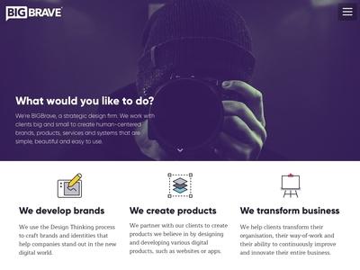 BIGBrave Website