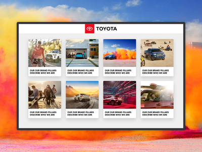 Multimedia Portal for Image Galleries & Videos uidesign visual design ui design