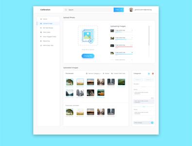Dashboard Upload Images