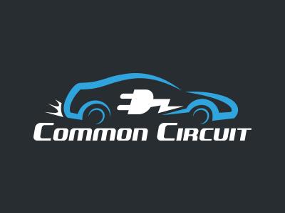 Electric Car Startup Logo logo car electric