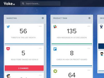 Activity Dashboard Concept list trello summary stats activity flat ux ui dashboard tiles cards