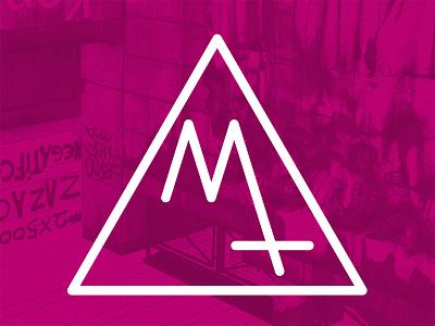 Magical Trash Logo music band logo geometric logo