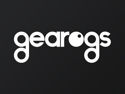Gearogs Logo vintage identity flat minimal logo