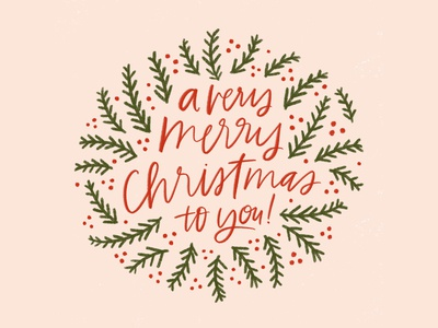 A Very Merry Christmas to You!