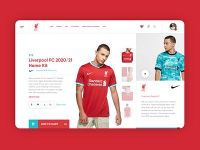 Website Design Liverpool FC flat minimal landing page graphic design design ux ui liverpool fc liverpoolfc liverpool web website web design