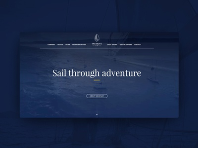 Viko Yachts - webiste webdesign website rwd responsible sailing sail water fresh boat yachts