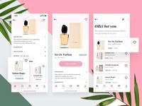 Perfumes Shop App Concept