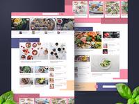 Recipes Website Shot