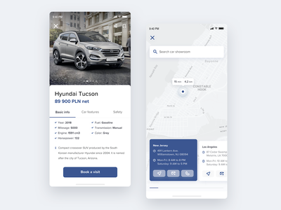Car Showroom app