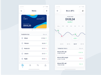 Cryptocurrency ios app screens full size