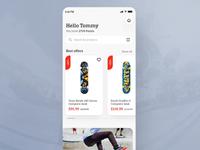 Skate shop app - Product scanning