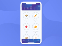 FitKiddo Mobile App - Nutrition