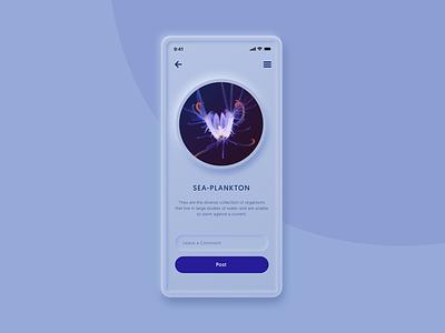 Neumorphism UI Study comment photo design app study design uidesign ui neumorphism