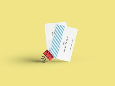 Business Card Sample card design 名刺 card business card businesscard branding logo sketch dribbble japan tokyo design