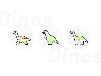 Dinos Icon dinosaur dino icon tokyo japan illustration design