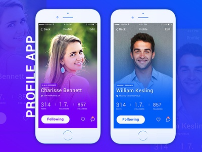 Profile App Concept