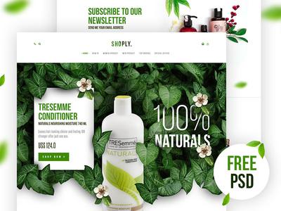 Free Free Shoply Landing Page