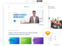 Free Free - Creatively Agency landing page