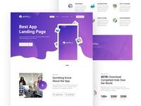 Appli_App Landing Page