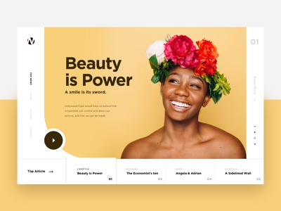 Visual Exploration 6 agency clean creatively design interface trendy ui landing page header slider