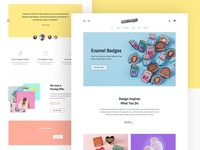 Flaming Flamingos Website Design