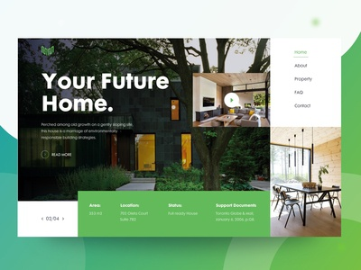 Future Home Header Exploration