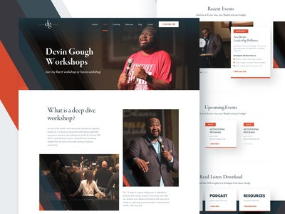 Devin Gough - Workshops and Booking