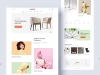 UNERO eCommerce website design