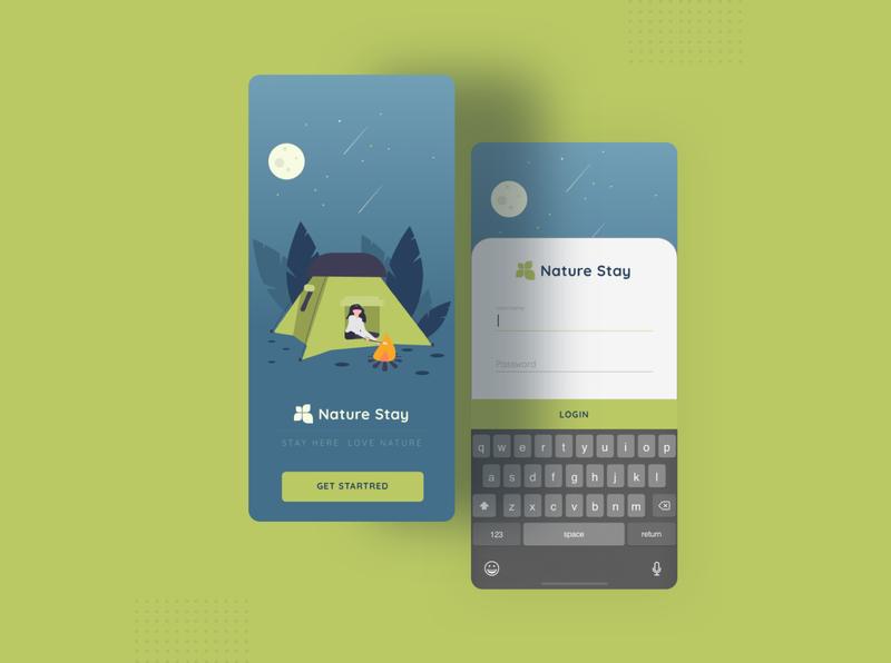 Summer Camp Booking Concept landing color clean ui web landingpage website clean ui whitespace typography minimal
