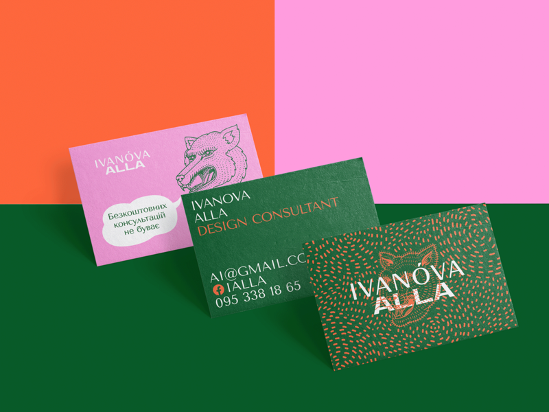 Business Card Design for a Design Consultant collateral business card character design type logo illustraion branding