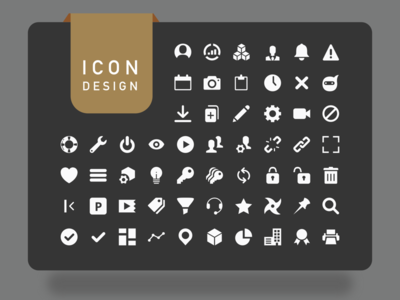 Icon design ui ux sketcha app icons icon design design system