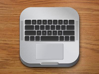 Are we ready for a comeback of skeuomorphic? logo ui design skeuomorph app icon keyboard fonts erudito macbook pro realistic icon ios neomorphism skeuomorphic