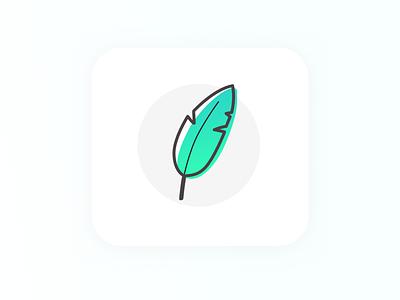 Erudito Logo erudito feather