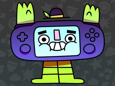 Mr Vita cute illustration illustrator character design video games games vita playstation