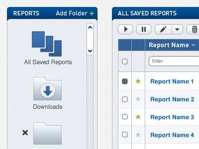 Reports Management reports reporting folders folder ui ui design product design product dashboard management