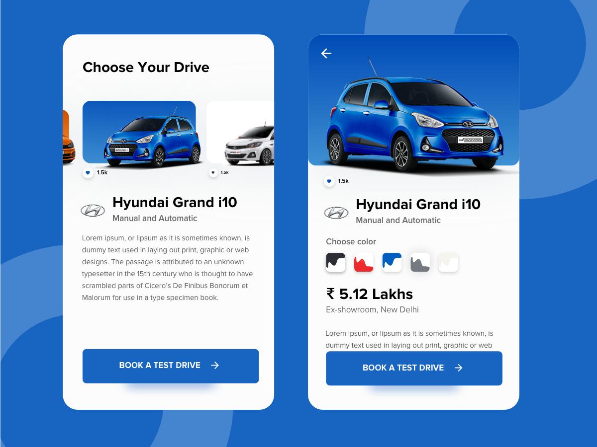 Choose your Drive testdrive automotive hyundai polo drive cars
