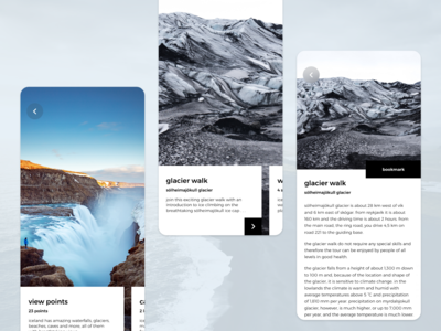 Travel app - Iceland