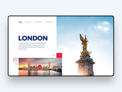 London - Responsive website
